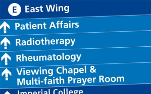 charing-cross-hospital-wayfinding-directional-signage